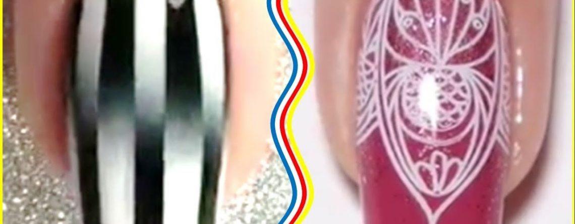 The Best Nail Art Tutorials - Top Wonderful Nails Design Ideas