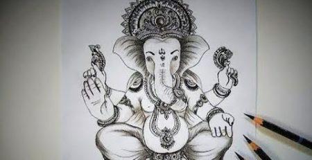 Ganpati sketch video - Best skech video #sketching #Ganesh #Ganpati #drawing #tutorials