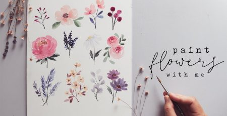 Every Watercolor Flower You'll Ever Need!
