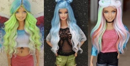 Best Hair Tutorial for Barbie Doll ? Amazing Barbie Hair Transformation ? Very Easy