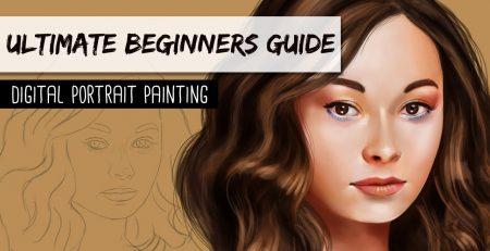 ULTIMATE BEGINNERS GUIDE - Digital Portrait Painting