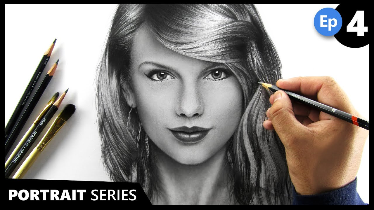 How to Draw a PORTRAIT Easily   Tutorial for BEGINNERS