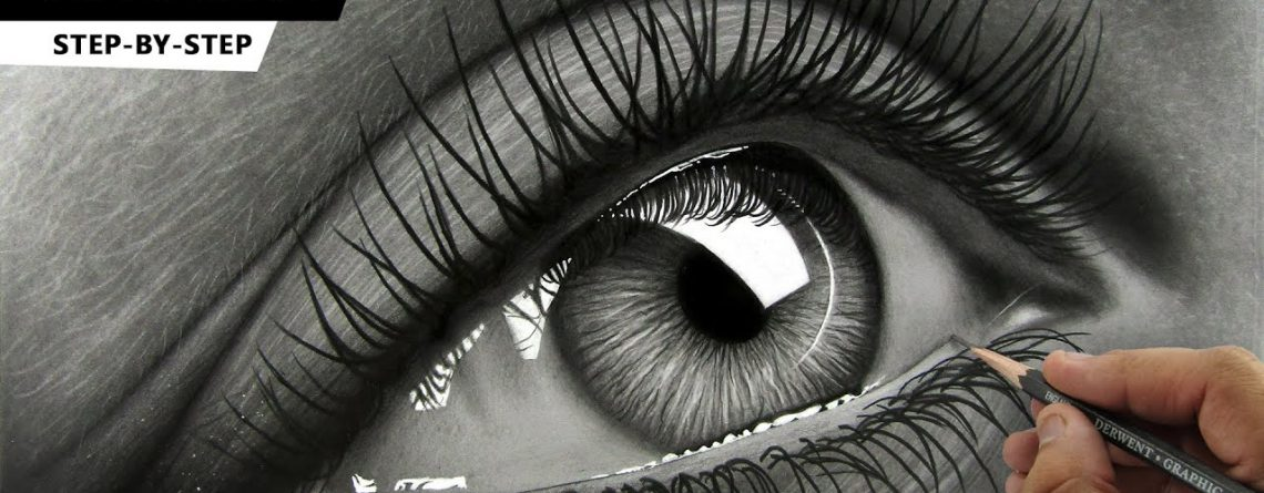 How to Draw Hyper Realistic Eye | Tutorial for BEGINNERS