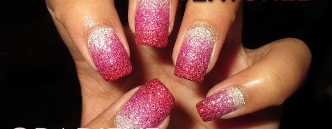 Textured Pink Valentine's Gradient | DIY Nail Art Tutorial