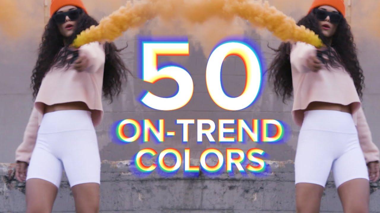 Cue the Color:  50 Shades of Street Fleece
