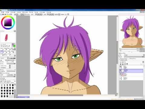 Elf Bust Drawing - Beyond Art Tutorials