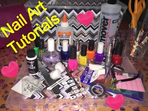 NAIL ART TUTORIALS - COMING SOON!  7ANGELHAIR7