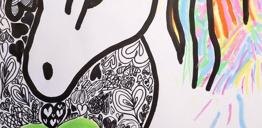 Mr. Doodle Inspired Doodling Pictures