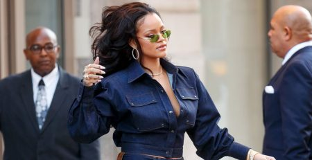 """Rihanna's Badass Street Style Says, """"Look Back at It 'Cause I'm Fabulous"""""""