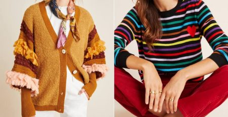 Bye Tees, Hello Comfy Sweaters! These 32 Anthropologie Picks Will Give You Cozy Vibes