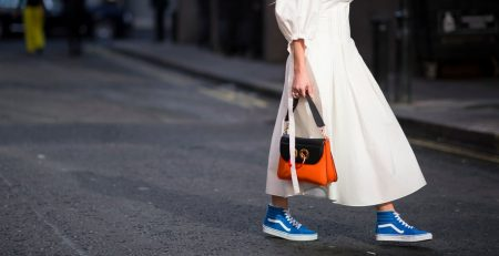 This Is Exactly How Street Style Stars Pull Off the Dress and Sneakers Look