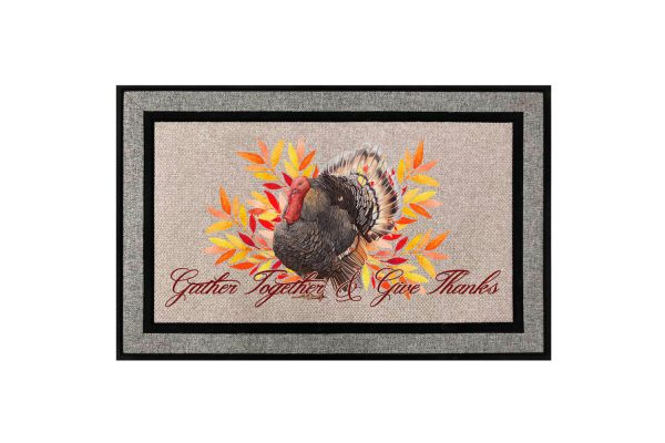 Gather Together and Give Thanks Doormat Main