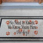No Need To Knock Dogs Know Mockup