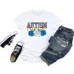 Autism Awareness Definition White Tshirt Plush Prints 1