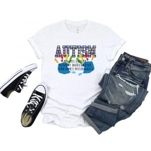 Autism Awareness Definition White Tshirt Plush Prints 1
