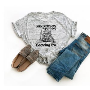 Sanderson Sisters Brewing Co Marble T Shirt