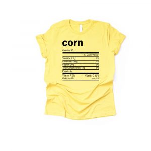 Corn Thanksgiving Ingredient Shirt