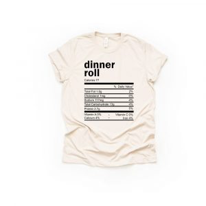 Dinner Roll Thanksgiving Ingredient Shirt