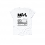 Mashed Potatoes Thanksgiving Ingredient Shirt