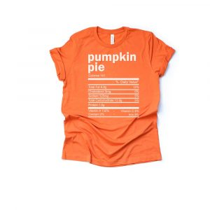 Pumpkin Pie Thanksgiving Ingredient Shirt