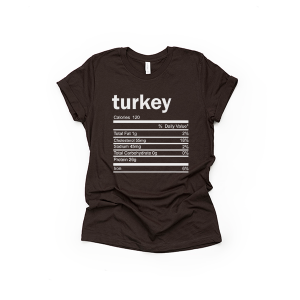 Turkey Thanksgiving Ingredient Shirt