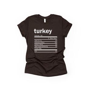 Turkey Thanksgiving Ingredient Shirt