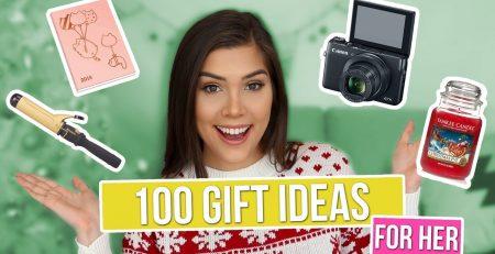 100 CHRISTMAS GIFT IDEAS FOR HER Girlfriend Sister Mom