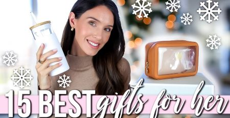 15 BEST Christmas Gifts for HER Holiday Gift Guide 2020