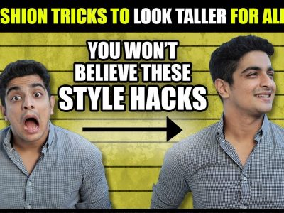 9 Short Guy Fashion Tips INSTANTLY Look TALLER Than