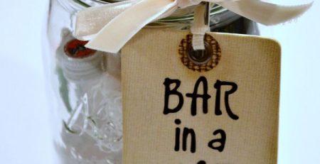 Bar in a Jar A Fun Easy Gift