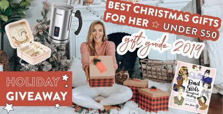 Best Christmas Gifts for HER under 50 Holiday GIVEAWAY