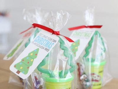 Decorate Your Own Playdough Christmas Tree Gift Idea See