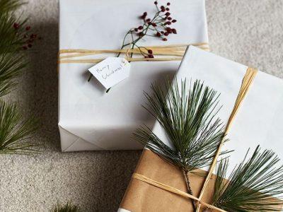 Easy Christmas Gift Wrap