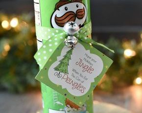 Funny Christmas Gift Idea with Pringles – Fun Squared