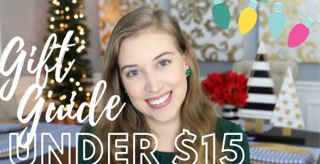GIFT GUIDE FOR HER ALL UNDER 15 HOLIDAY GIFT