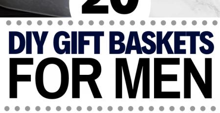 Gift Baskets For Men 20 DIY Gift Baskets For Him