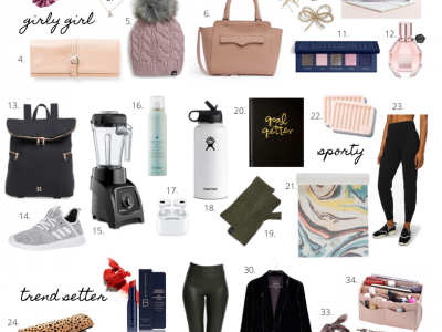 Gift Guide for every kind of HER the Sarah
