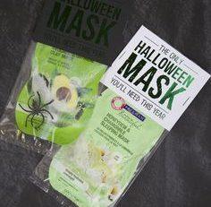 Halloween Mask Gift Idea Eighteen25