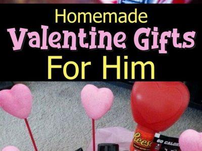 Homemade Valentines Day Gifts For Him 37 DIY Boyfriend