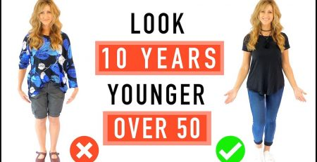 How To Look 10 Years Younger Style Tips For