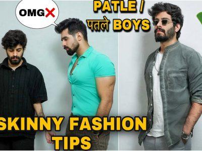 SKINNY BOYS FASHION TIPS पतले लड़को का FASHION MEN39S FASHION