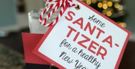 Santa Tizer Hand Sanitizer Easy Christmas Gift Idea Mama Cheaps