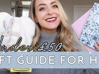 THE GIFT GUIDE FOR HER under 50 Fleur De