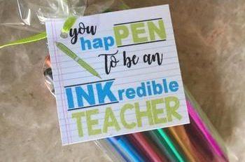 Teacher Appreciation INKcredible Labels