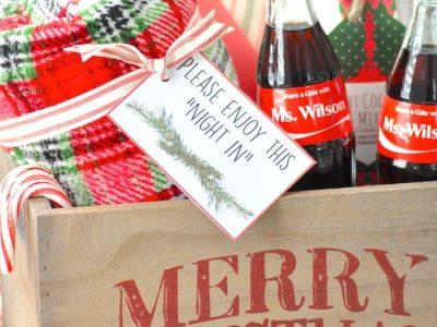 Teacher Christmas Gift Idea Giveaway FREE Printables