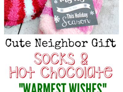 Warmest Wishes Neighbor Gift Idea