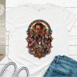 Malcolm X, Martin Luther King Jr., Obama, Rosa Parks, Black History Month Unisex T-Shirt