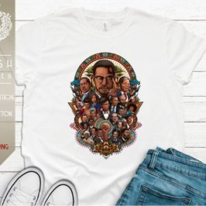 Malcolm X, Martin Luther King Jr., Obama, Rosa Parks, Black History Month Unisex T-Shirt