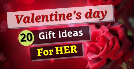 20 Gift Ideas for HER on Valentine39s Day 2021