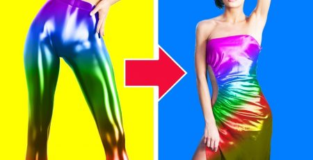 24 COOL FASHION TIPS AND CLOTHES HACKS